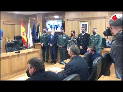 Xinzo reconoce con su Medalla al capitán José Luis Casas