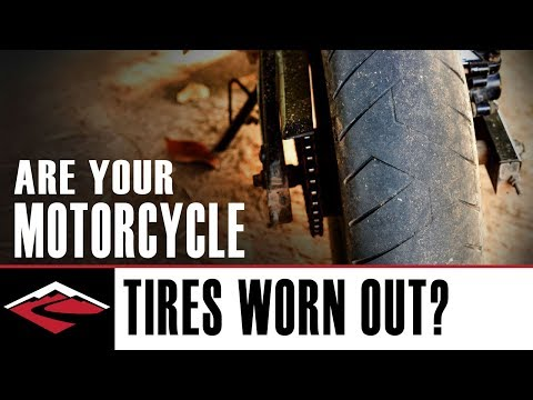 Are Your Motorcycle Tires Worn Out? 👻
