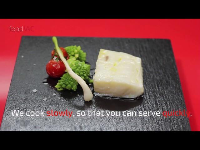 foodVAC Confited Cod Regeneration