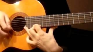 Guitar lesson Yiruma River flows in you part 1