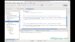 Developing Web application with Tomcat and Eclipse IDE