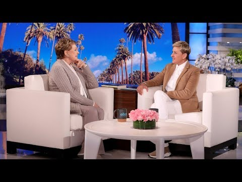Julie Andrews Tells Ellen Her Favorite Swear Word