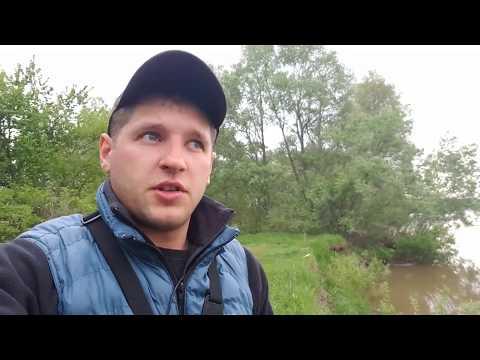 Закидушки на реке Чулым,пробный выезд