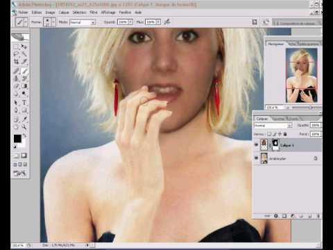 nouvelle coiffure avec un logiciel - YouTube