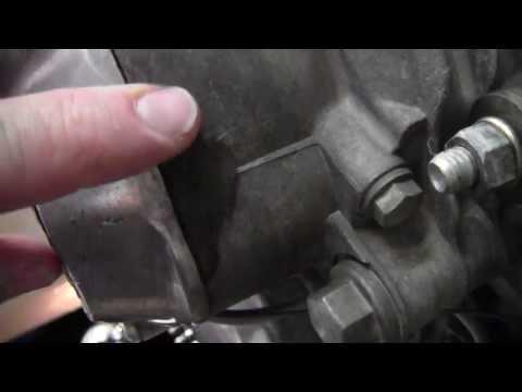 Kawasaki KZ 650 Repair of broken engine case, 01