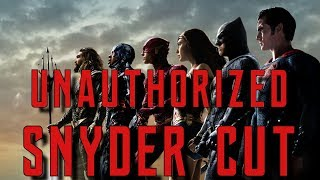 Justice League L Unauthorized Snyder Cut L First 4 Minutes