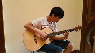 Đêm nằm mơ phố - guitar solo HL