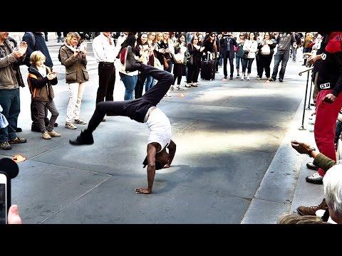 Видео: Уличные Танцоры Нью Йорка