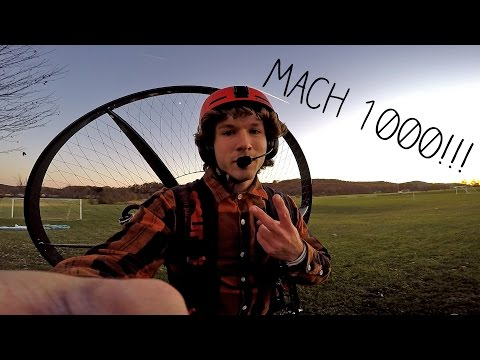 How Fast Is A Paramotor?? - Random Dispatch #5