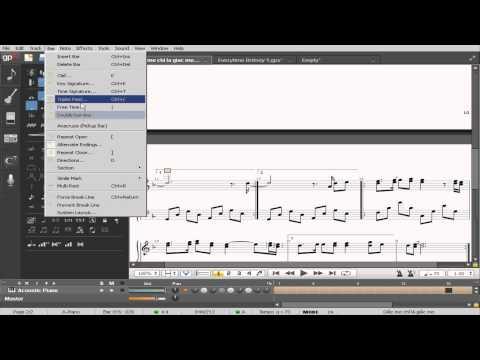 Hướng dẫn sử dụng (Tutorial) Guitar Pro 6