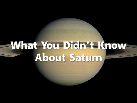 What You Didn't Know About Saturn