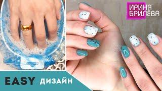 СЕКРЕТ хорошего ВЫРАВНИВАНИЯ базой Маникюр короткие ногти Ирина Брилёва