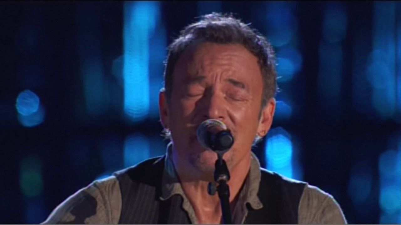 Bruce Springsteen Dancing In The Dark Acoustic Live Version