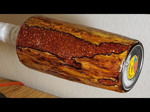 How To Make A Woodgrain COPPER Geode Tumbler - Start To Finish