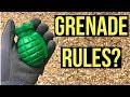 Grenade Rules???   Strange or Lame Airsoft Grenade Rules