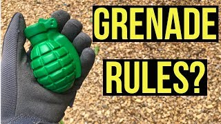 Grenade Rules??? | Strange or Lame Airsoft Grenade Rules