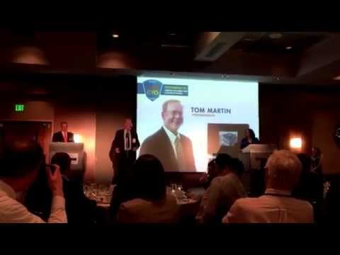 Tom Martin, 2014 Puget Sound Business Journal CIO of the Yr