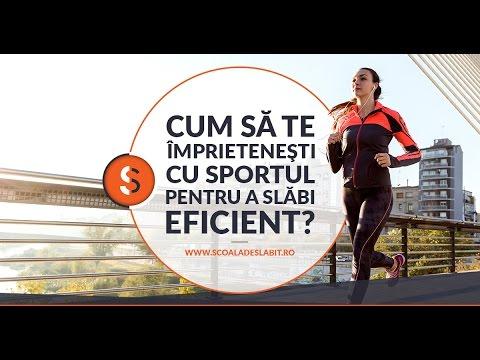 Cum să te împrieteneşti cu sportul, pentru a slăbi eficient?  Eveniment  GRATUIT