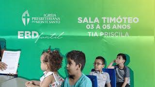 EBD INFANTIL IPMS | 13/12/2020 - Sala Timóteo 3 a 5 anos