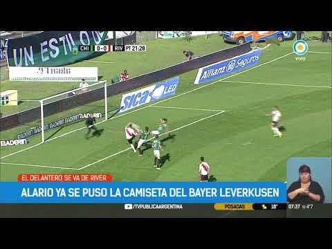 Alario se puso la camiseta del Bayer 2017 08 30 #TPANoticias