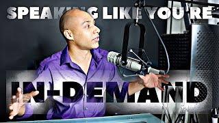 How to talk like a million dollar speaker