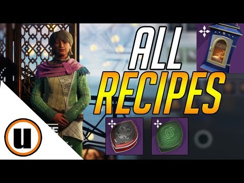 Dawning All Recipes And How To Get Ingredients Baking Guide | Destiny 2 Black Armory