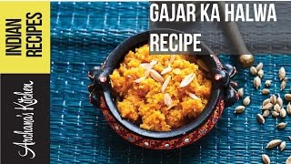 Gajar Halwa Recipe (spiced Carrot Pudding) By Archana's Kitchen