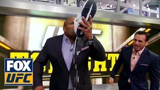 Daniel Cormier does a shoey | UFC TONIGHT
