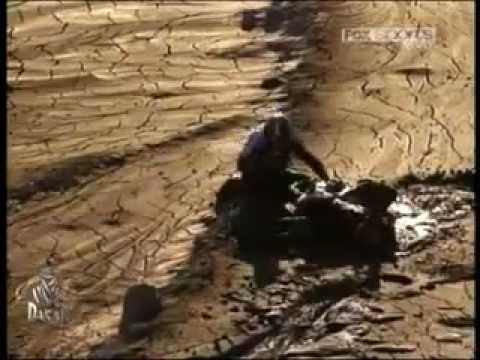 Caida de Despres y complicaciones en el barro Dakar 2012