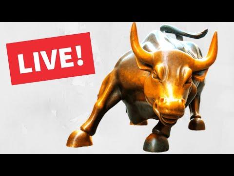 Watch Day Trading Live - October 1, NYSE & NASDAQ Stocks