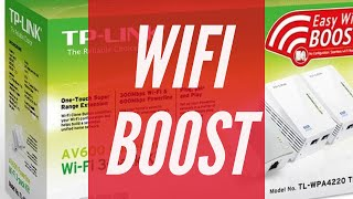 BOOST YOUR WIFI - How to - TL-WPA4226 | Review