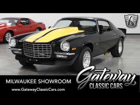 1972 Chevrolet Camaro, Gateway Classic Cars-Milwaukee #864