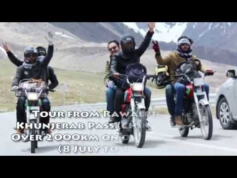 Epic Bike trip from Rawalpindi To Northern Pakistan via Naran, Chilas, Gilgit, Hunza, Khunjerab Pass
