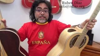New Simplicio 1929 Deep Blanca of Brazilian Mahogany with zero fret / Andalusian Guitars Spain