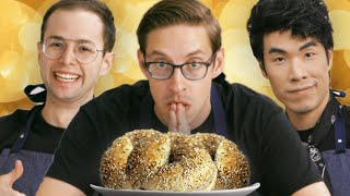 Download The Try Guys Cook Bagels Without A Recipe Mp3 and Videos