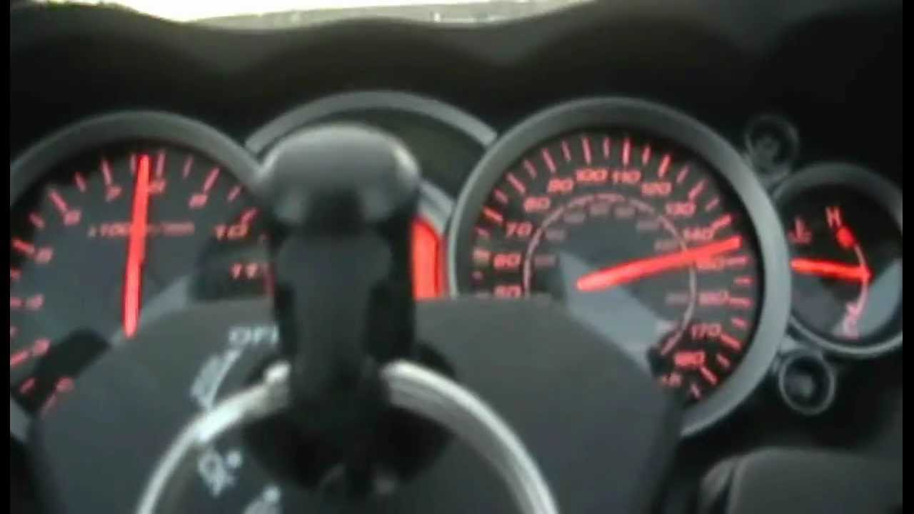 Hayabusa 2011 top speed red line 6th gear 11,000 RPM - YouTube