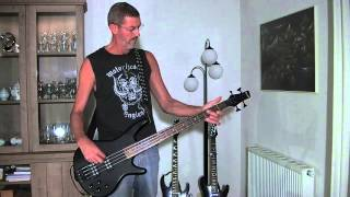 The devil went down to Georgia - Steve Oiumette, a metal cover on bass