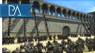 MASSIVE ORC SIEGE BATTLE: GONDOR'S LAST STAND - Third Age Total War Reforged Mod Gameplay