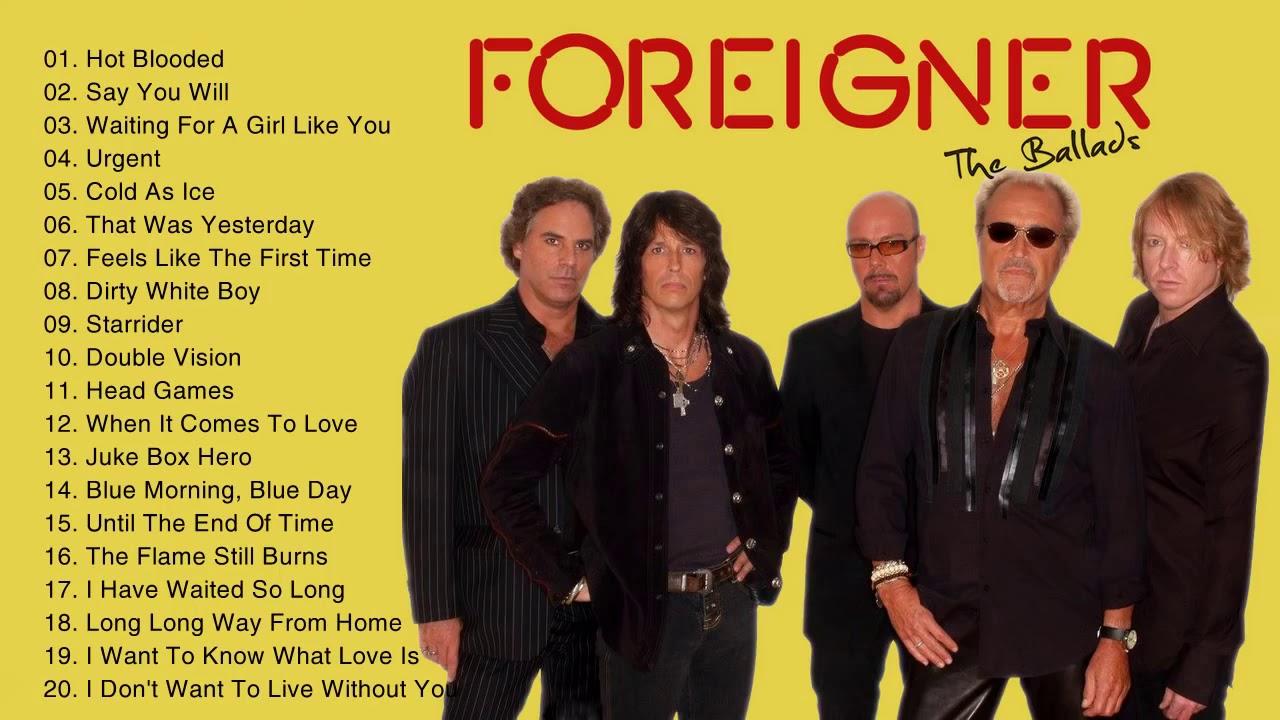 foreigner 2019