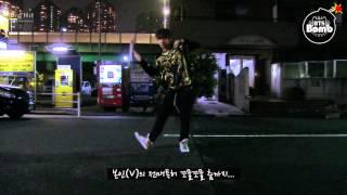 [BANGTAN BOMB] V's solo dance in the night - BTS (방탄소년단)