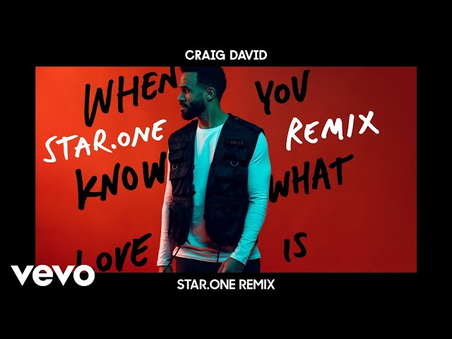Craig David - When You Know What Love Is (Star.One Remix) [Audio]