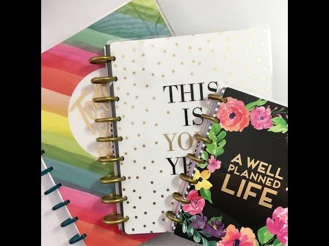 October 28, 2016 Michael's  The Happy Planner™ Release