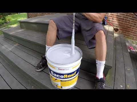 How To Stop Roof Leaks.Gaco Roof
