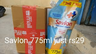 Savlon Handwash Unboxing & rewiew