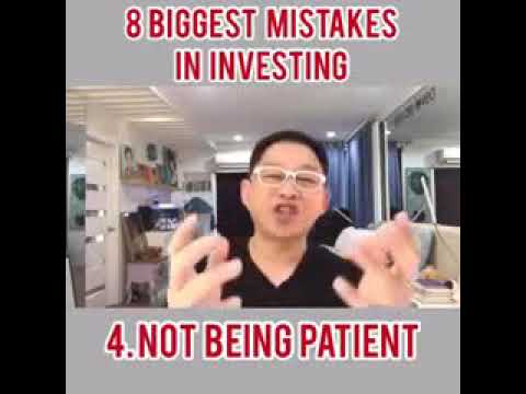 8 Biggest Mistakes in Investing by CHINKEE TAN