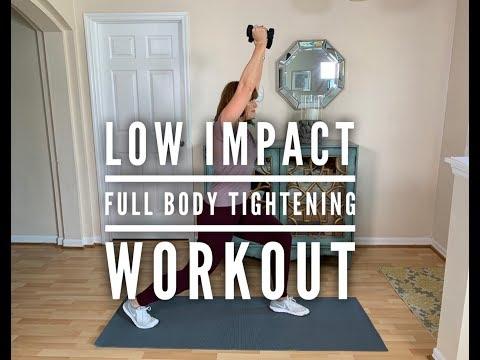 Low Impact Full Body Tightening Workout 310