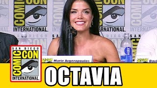 """THE 100 Marie Avgeropoulos """"Octavia"""" Comic Con Interview"""