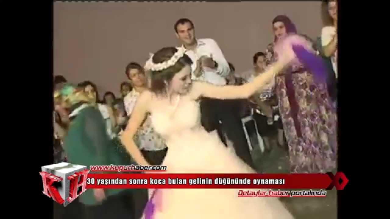 30 yaşından sonra koca bulan gelinin düğününde oynaması