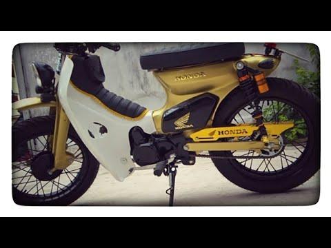 Review Honda Super Cub 90 Custom