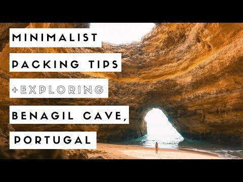 Minimalist Packing Tips + Exploring Benagil Cave, Portugal